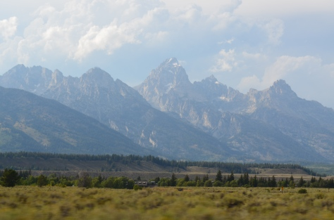Tetons from the Park Road