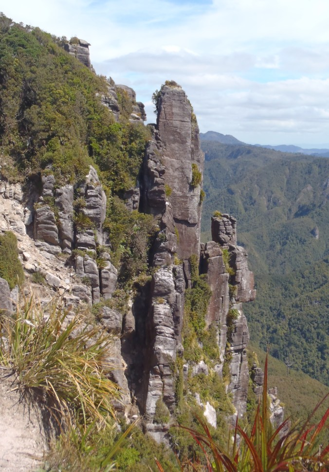 """The top of our hike up to """"The Pinnacles"""""""