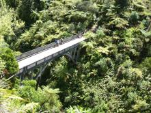 "The famous ""Bridge to Nowhere"""