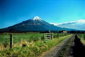 Beautiful Mt Taranaki (sadly not our picture)
