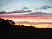 Another beautiful sunset over the Taranaki Penninsula