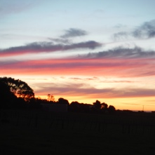 Another beautiful sunset over the Taranaki Penninsula
