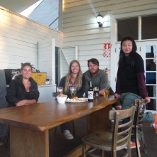 Emilie (French), Lindsay (Canadian), Clay (American), Ginny (Singapore) - The people you meet traveling.