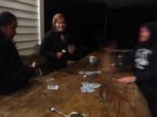 Play cards, drink beer, take advil. Repeat again tomorrow.