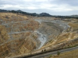 Clean, Green New Zealand... minus the strip mining for gold...