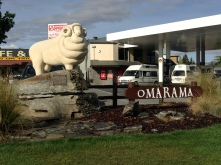 Statue of a Merino sheep. Why not?