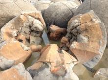 Inside the boulders