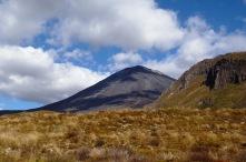 Mount Ngauruhoe. Mount Doom. Blue skies. 360 degree views that we didn't see.