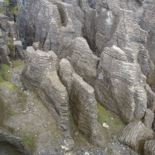 Pancake rocks. We'll have to add the videos to get the full effect though.