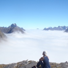Panoramic shot, one of the most incredible places I've ever been