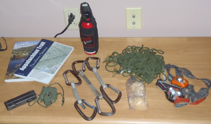 "Guide Books, Bear Spray and the other ""indispensables"""