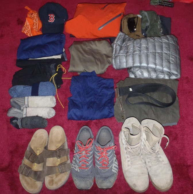 Appalachian Trail Prep V: The Clothing We Will Live In