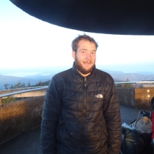 Ryan 'Rogan' at Clingman's Dome