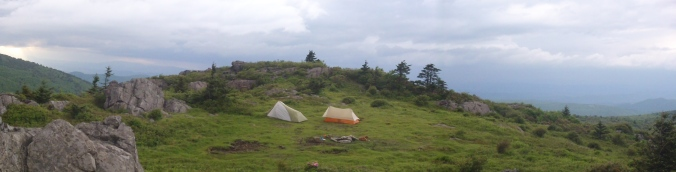 Grayson Highlands in a Panoramic Shot