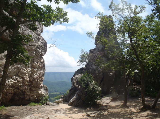 The view of the Dragon's Tooth