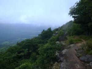 Walking along the Tinker Cliffs