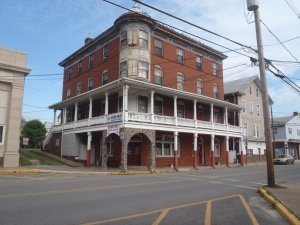 The infamous Doyle Hotel in Duncannon, PA