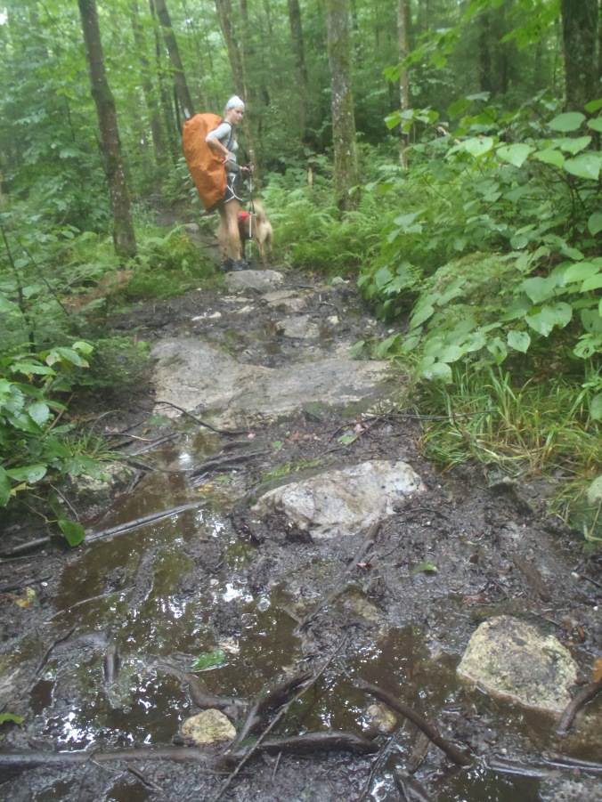Muddy Vermont trails... okay they were actually kind of fun!
