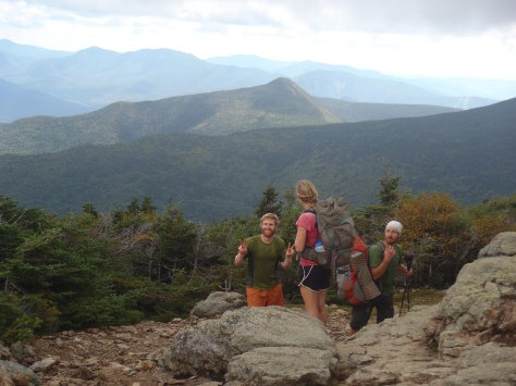 Lindsay, Fern Gully and Sunshine on the Franconia Ridge
