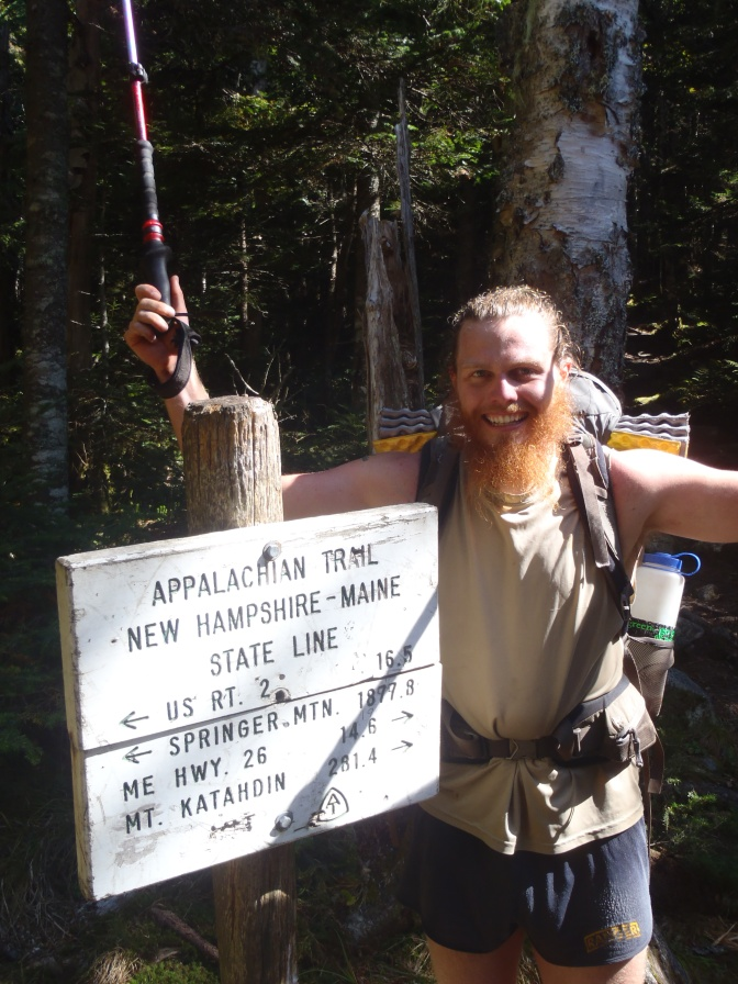 The Maine Appalachian Trail; Sep 9th (1887mi) to Sep 21st (2070mi)